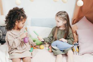 Kinderen leren delen