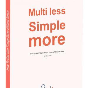 ebook Multi Less - Simple More - Cover